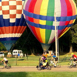 Balloon Chase - Bike Ride